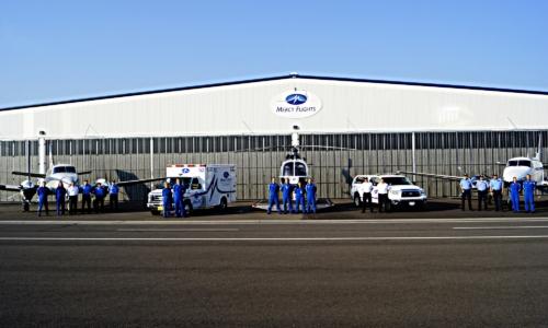 Medical Transport Hangar