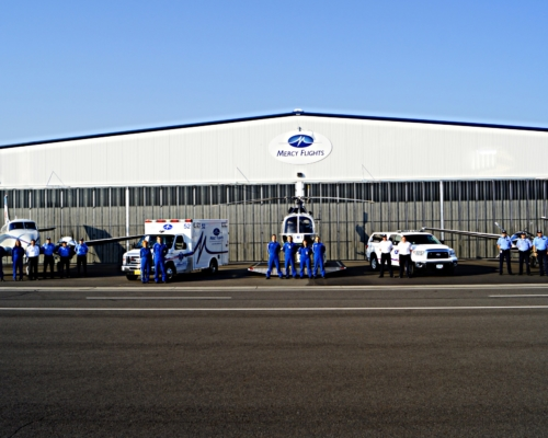 Medical Transport Hangar