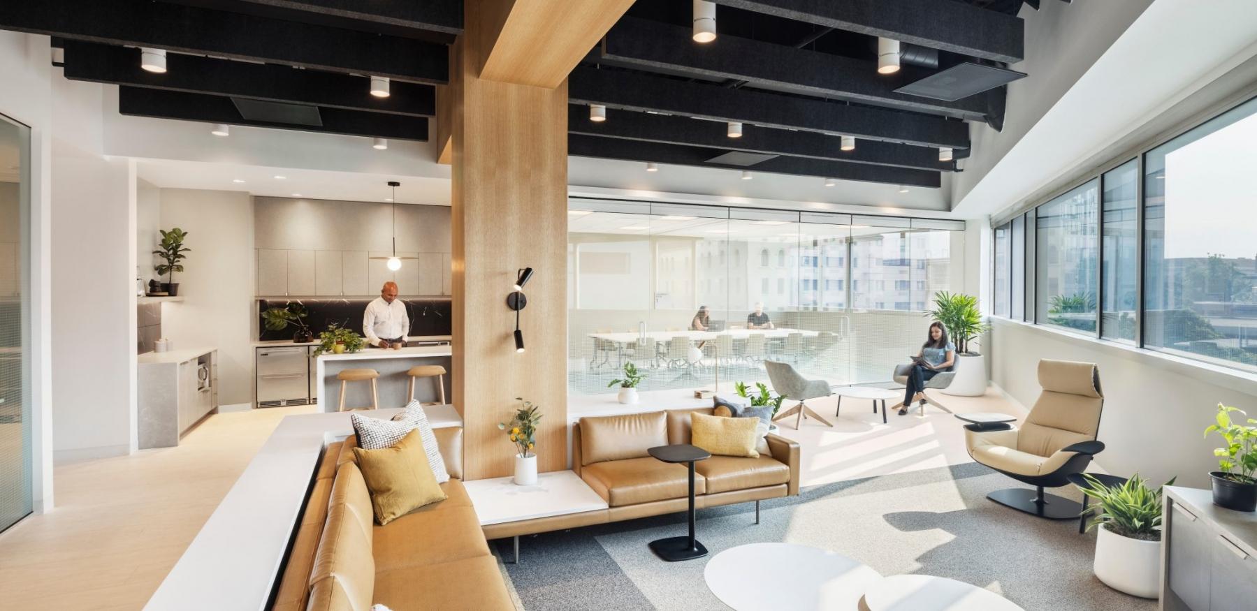 Kaiser DOCO Family Medicine Residency Lounge